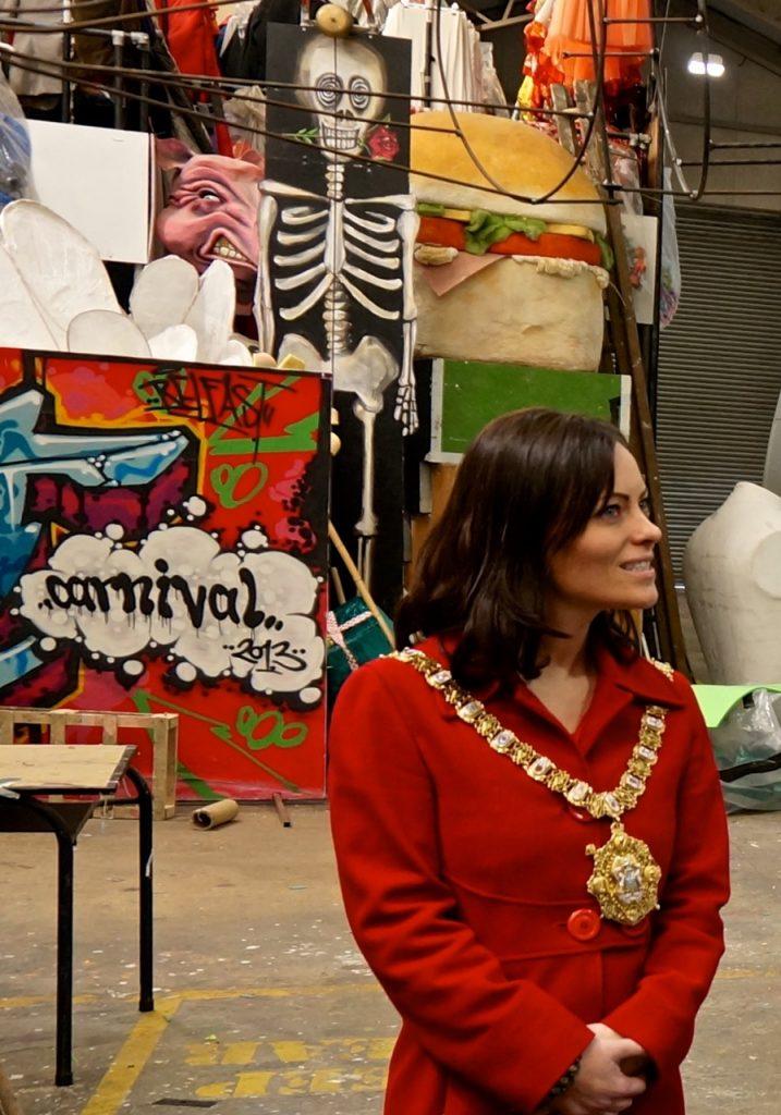 Nichola Mallon, Lord Mayor of Belfast at Beat Carnival Centre
